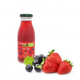 Плодов нектар от ягода и арония