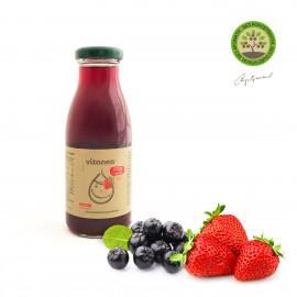 Плодов нектар ягода със стевия